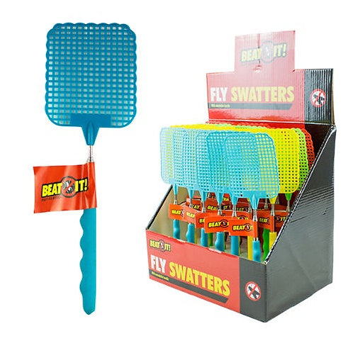 Extendable fly swat