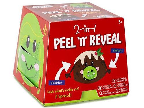 2-in-1 peel 'n' reveal