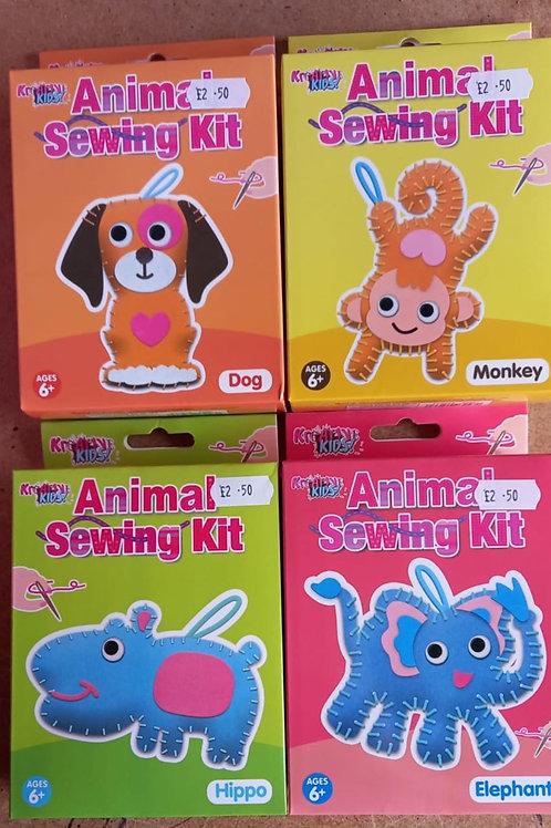 Animal sewing kit.