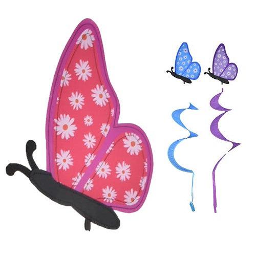 Butterfly windmill spinner
