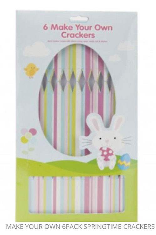 Make your own Easter crackers