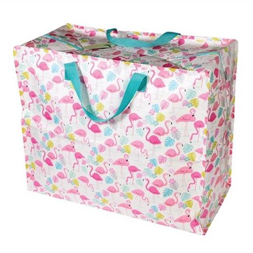 Flamingo jumbo storage bag