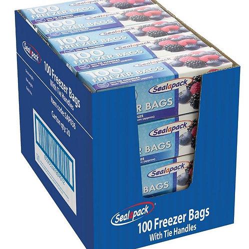 100 large freezer bags