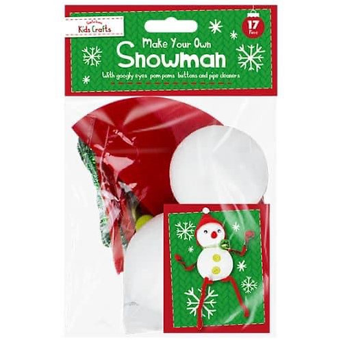 Make your own snowman