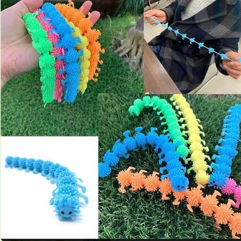 Stretchy fidget caterpillar