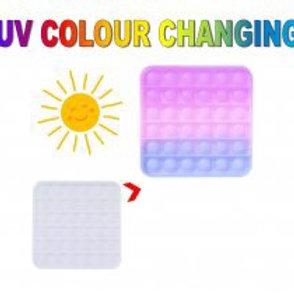 Square colour changing pop fidget