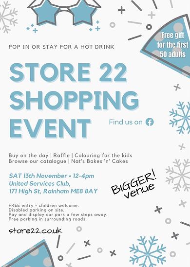 nov store 22 shopping event