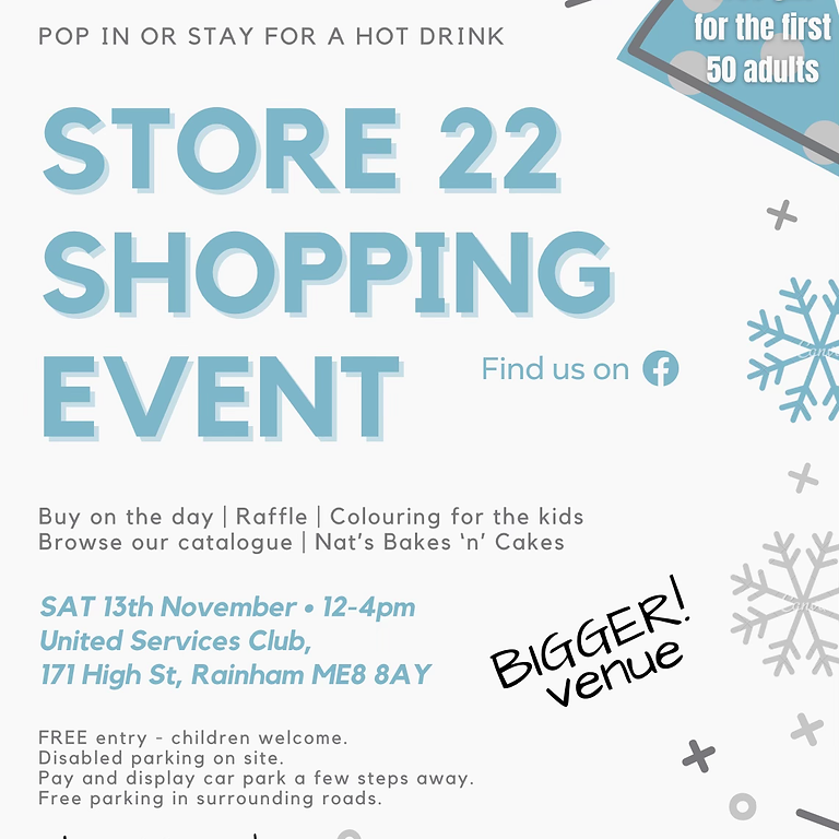 Store 22 Shopping Event - NOVEMBER 2021