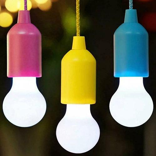 Battery powered bulb