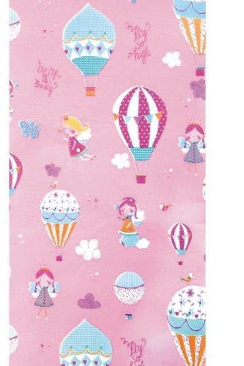 Pink balloon tissue paper