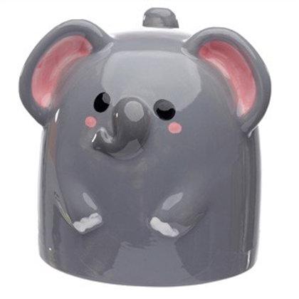 Upside down elephant mug