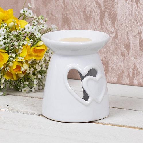 White heart oil burner