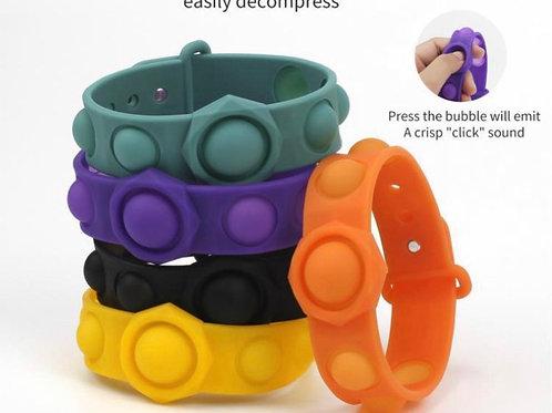 Pop fidget bracelet