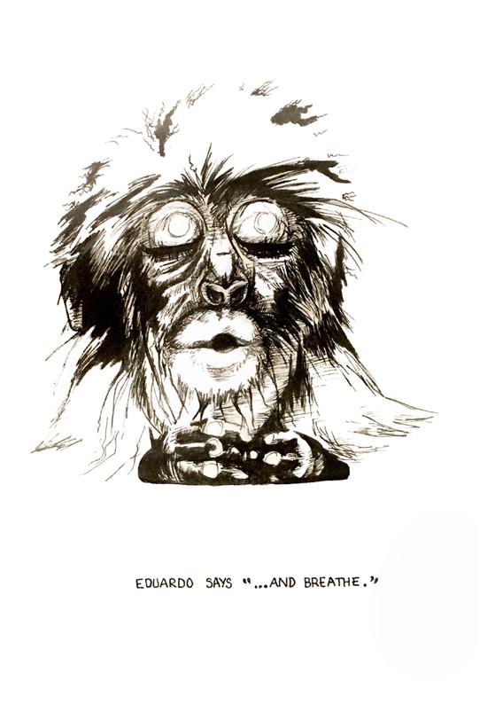 Eduardo the Macaque