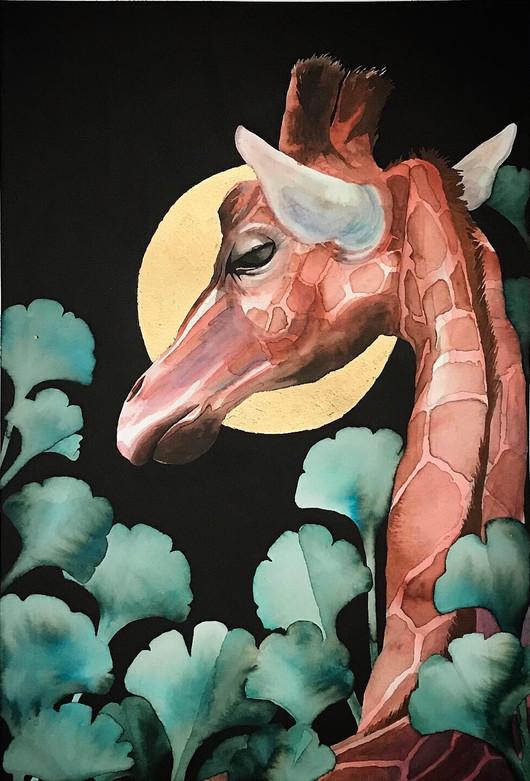 Giraffe With No Name