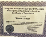 Orthopedic Massage Certificate of Completion (40 hours CEUs)