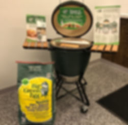 grills and big green eggs