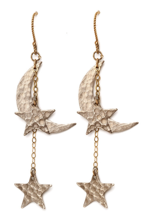 Give Me The Moon and The Stars Earrings