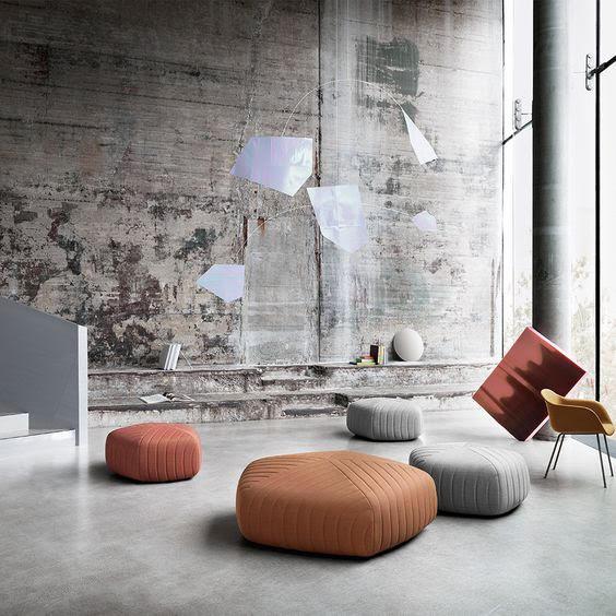 pofs, warm color palette, natural materials, interior design