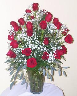 Long Stem Rose Vase