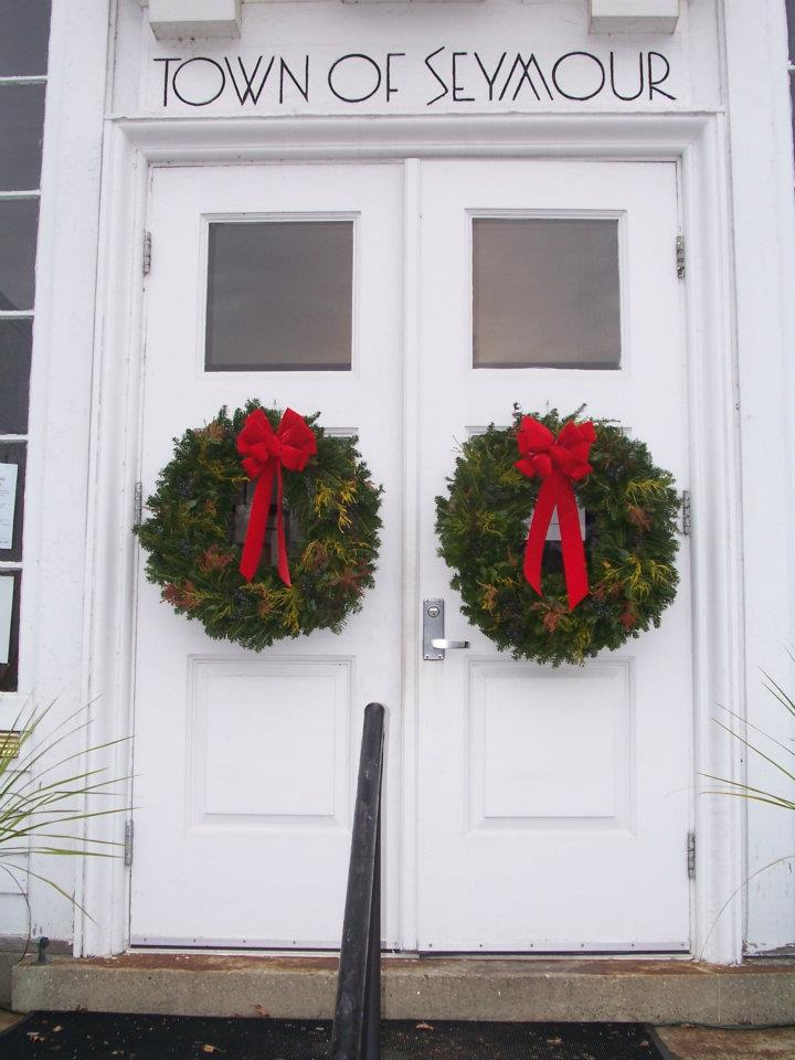 Christmas Mixed Green Wreaths