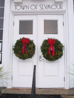 Christmas Mixed Green Wreaths
