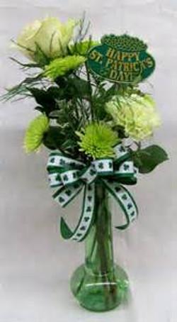 St. Patrick's Day Vase