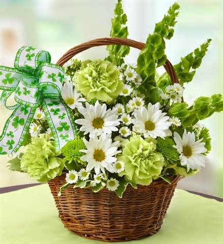 St. Patrick's Day Basket