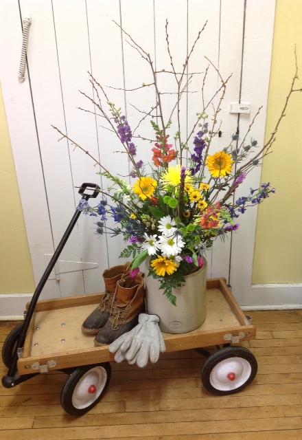 Floral Crock