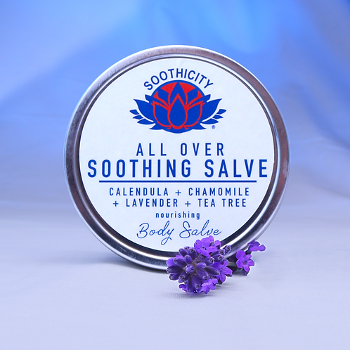 All Over Soothing Salve CALENDULA, CHAMOMILE, LAVENDER & TEA TREE - 80g