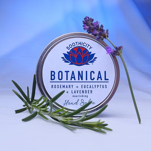 Botanical Hand Salve ROSEMARY, EUCALYPTUS & LAVENDER - 80g
