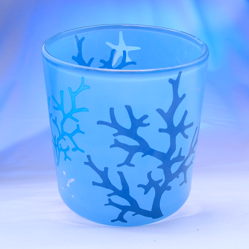 Glass Tea Candle Holder