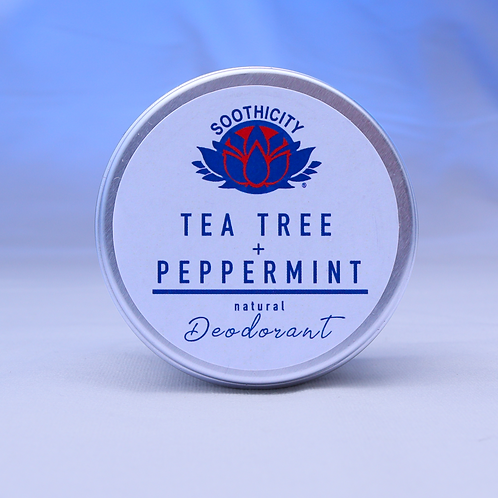 Natural Deodorant TEA TREE & PEPPERMINT - 45g