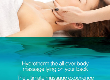 What is Hydrotherm Massage and how does it differ from conventional massage ?
