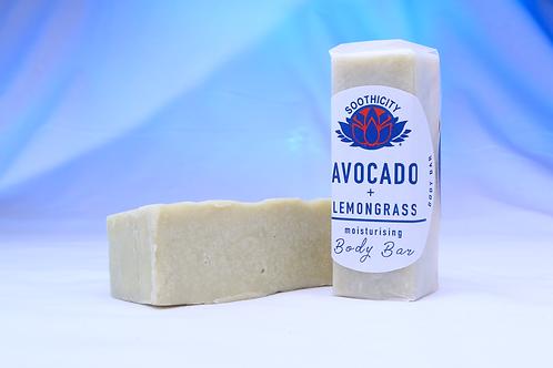 Body Butter Bar AVOCADO & LEMONGRASS - 50g