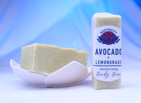 AVOCADO & LEMONGRASS BODY BUTTER BAR