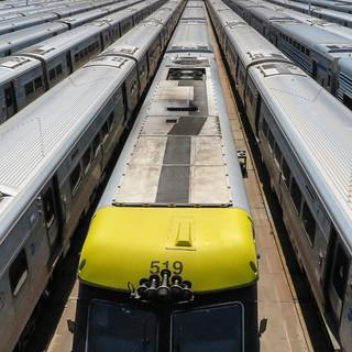 Rail Terminal, New York, US