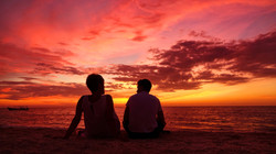 Sunset at Celestun, Yucatan, Mexico