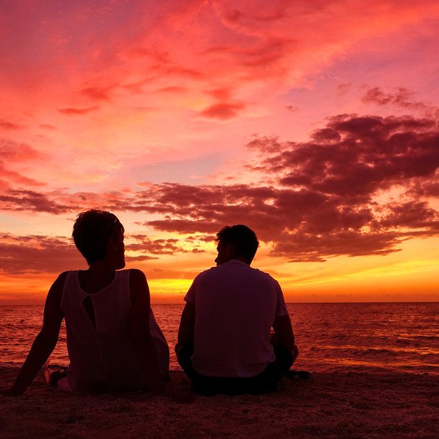 Celestun Beach, Yucatan Peninsular, Mexico