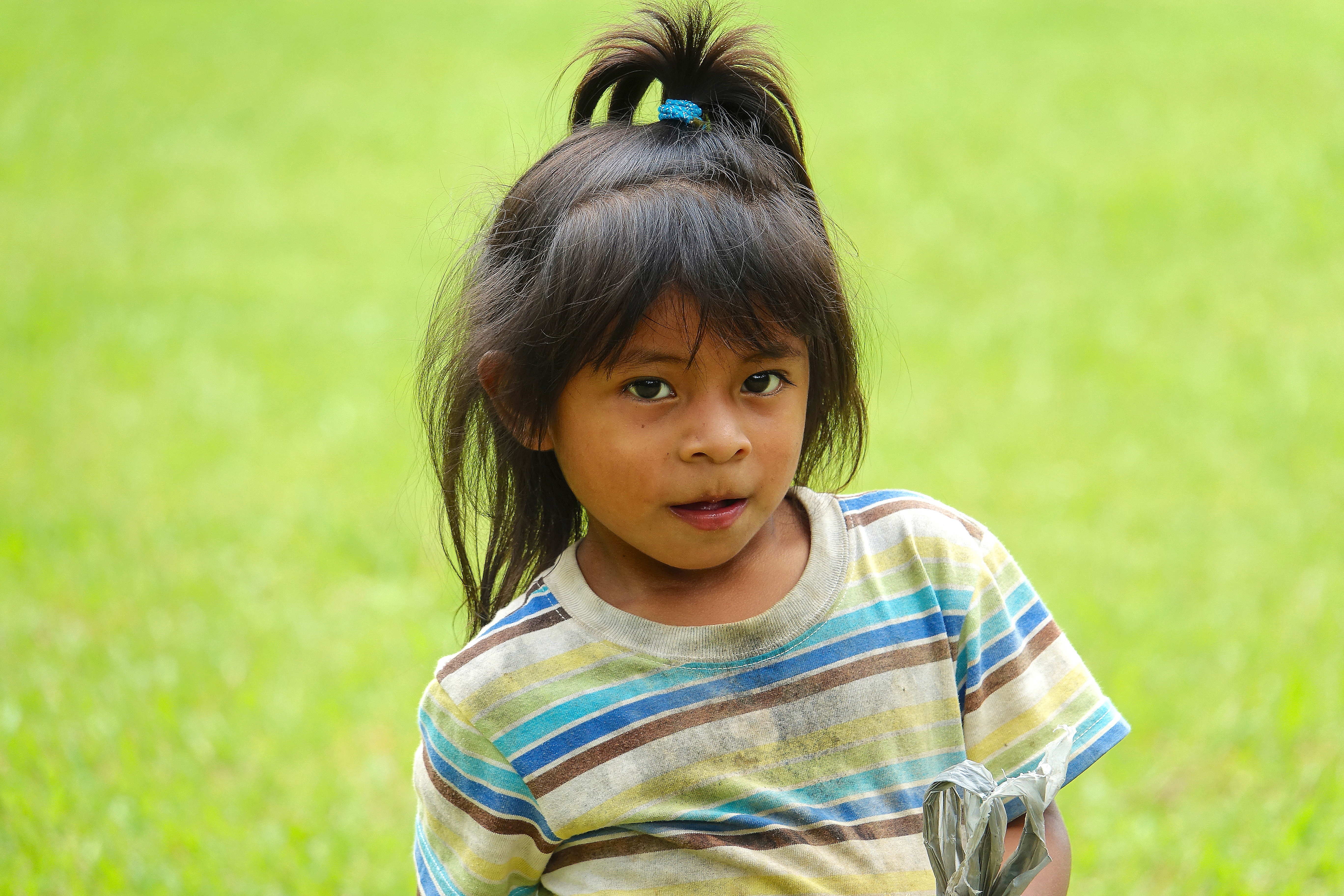 A Cabecar girl, Pacuare, Costa Rica