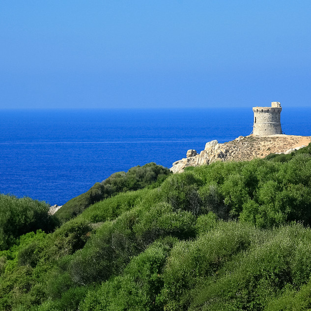 Genoese Tower, Corsica, France