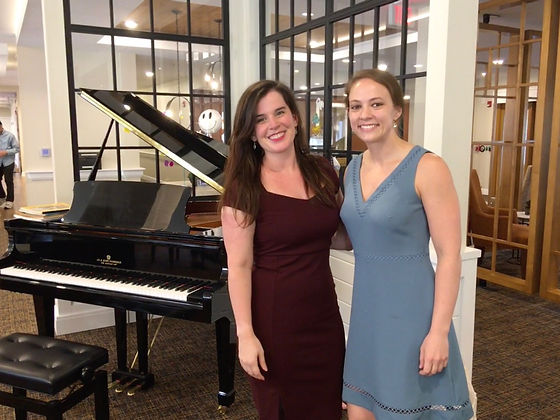 M Institute Young Artists, Sarah and Kelsey