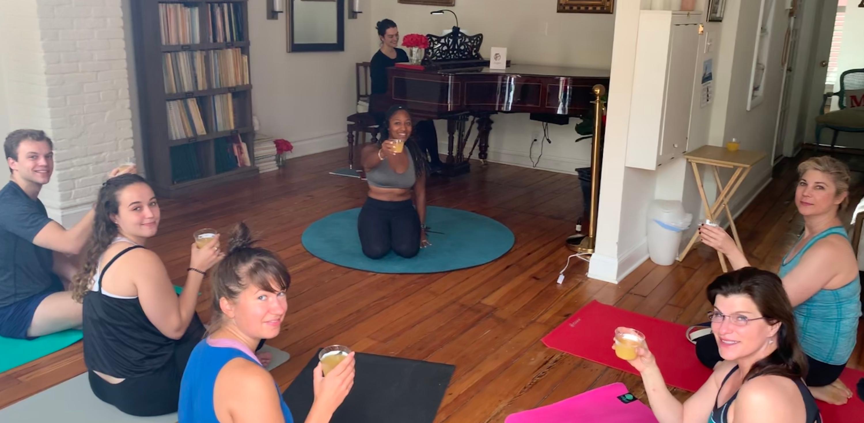 Live Music Yoga Reception, Dupont Ci