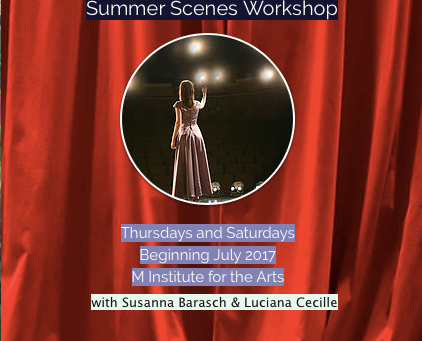 Musical & Opera Workshop (Summer 2017)