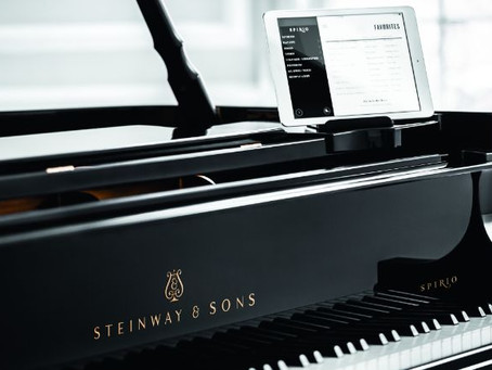 Thomas Pandolfi recording for Steinway Spirio
