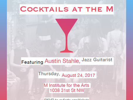 Cocktails at the M (Fundraiser)