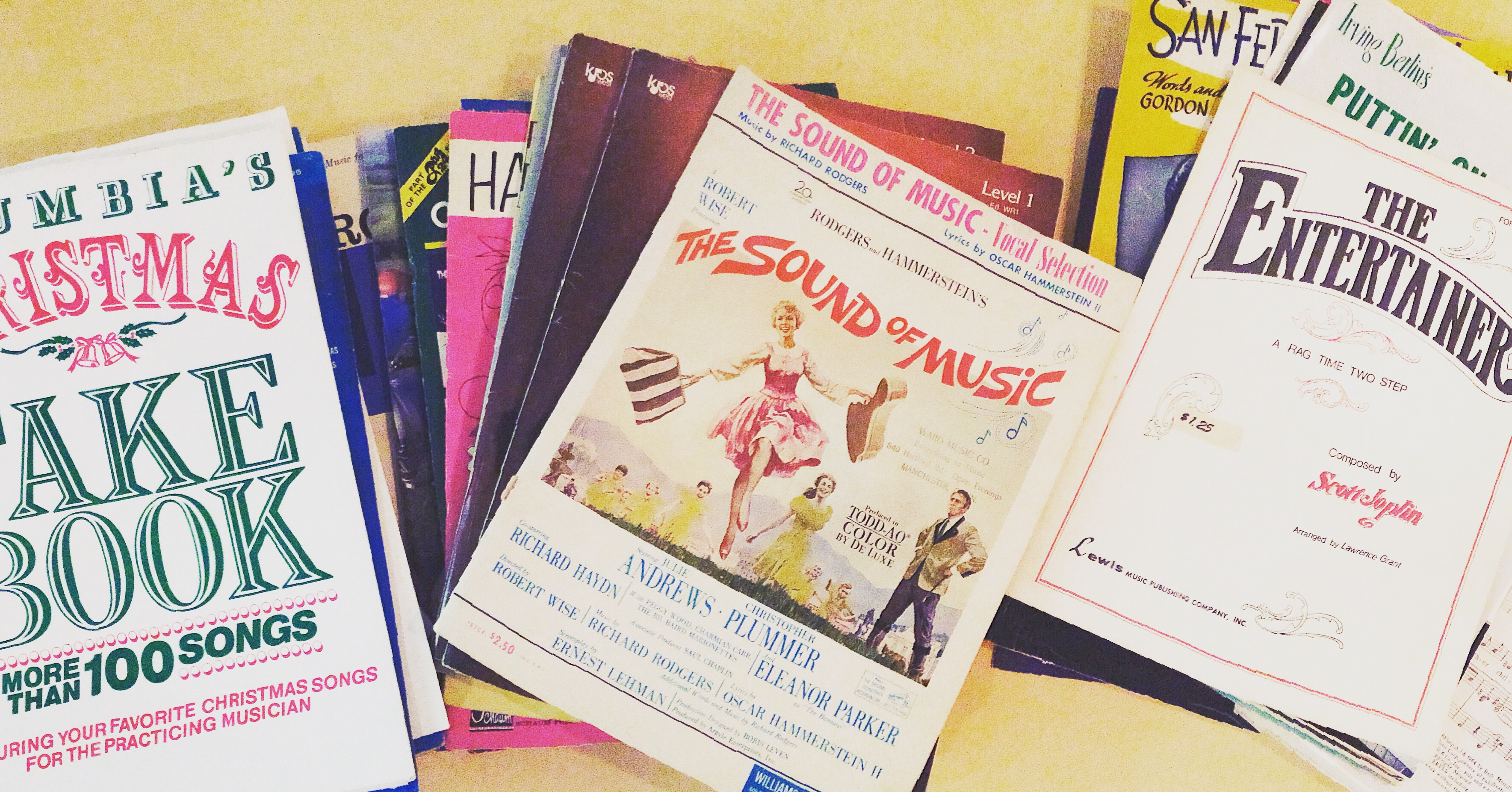 Sheet Music Donation Program