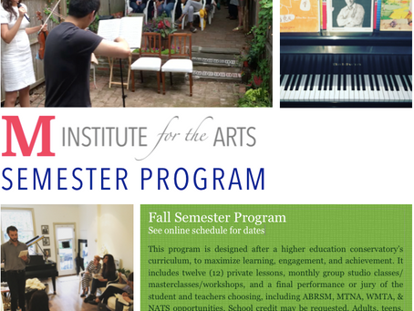 Semester Program (Ages 8 to Adult)