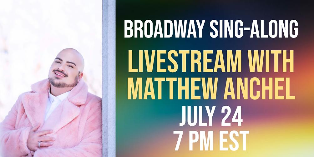 Broadway Sing-along Livestream