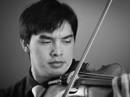Violinist Alex Giger joins faculty